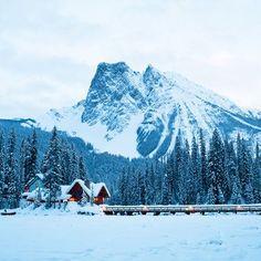 Cozy Winter Lodges - Sunset