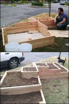 Grow Your Own Produce on Your Front Yard by Building a Tiered Garden Bed