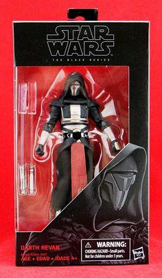 "Darth Revan Star Wars the Black Series 6"" Action Figure Hasbro Toy Wave 9 New #Hasbro"