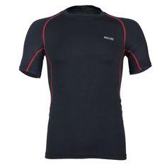 b2ad6b41a Mens Qucik-drying Riding Outdoor Running Fitness Tight Basketball Training  Tees Sports T-shirt - Mens Running T Shirt