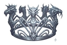 Crown by Anne Stokes