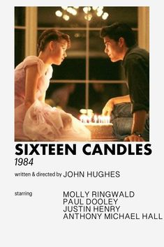 sixteen candles minimalistic style movie poster [inspired by andrew kwan] Iconic Movie Posters, Iconic Movies, 90s Movies, Good Movies, Indie Movies, Vintage Movies, Vintage Posters, Poster Wall, Movie Poster Room