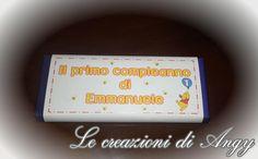 Barrette di Cioccolato personalizzate