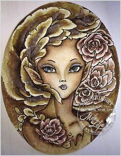 ©Mitzi Sato-Wiuff's Rose Fairy 2 Colored by Milo Lilija