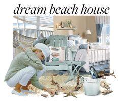 """Untitled #2230"" by gordana-danilov ❤ liked on Polyvore featuring interior, interiors, interior design, home, home decor, interior decorating, Harbor House, Safavieh and dreambeachhouse"
