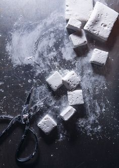 Moonshine Marshmallows from Shop This: Foodie Friday: Sixteen Sweet Recipes For March Madness And Beyond Food Photography Styling, Food Styling, Recipes With Marshmallows, Marshmallow Recipes, Homemade Marshmallows, It Goes On, Baileys, Food Art, Food Inspiration