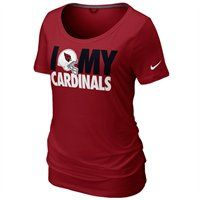 Nike Arizona Cardinals Women's Team Dedication Tri-Blend T-Shirt #Fanatics