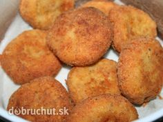 Jednoduché syrové fašírky Russian Recipes, Turkish Recipes, Ethnic Recipes, Sliced Potatoes, Mashed Potatoes, Hush Puppies Recipe, Fries Recipe, Albondigas, Cornbread