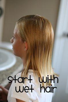 Tons of little girl hair ideas and step-by-steps