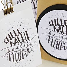 Weihnachten // Freebie // Advent // Lettering Free, Paper, Nice Map, Advent Season, Round Round, Templates, Cards, Christmas