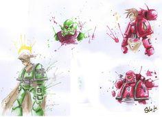 Bulk - Sketches 2 by Shla-K