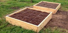 Learn how to build a raised garden bed on a slope
