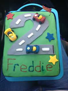 Birthday cake I made for friends little boy!