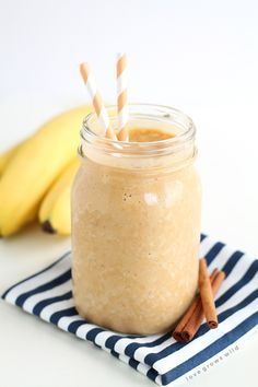Turn your protein shake into a delicious pumpkin treat! Healthy, satisfying, and… Pumpkin Protein Shake, Protein Shake Recipes, Protein Shakes, Smoothie Recipes, Pumpkin Shake, Pumpkin Smoothie, Protein Smoothies, Yummy Smoothies, Drink Recipes