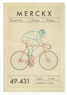 apisonadora60 — thehandmadecyclist:   1972: Merckx  The greatest...