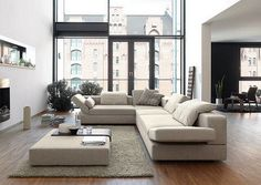 Cool Contemporary Living Room Furniture Interior Decoration Ideas Picture