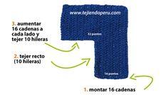 Cómo tejer un bikini básico a crochet