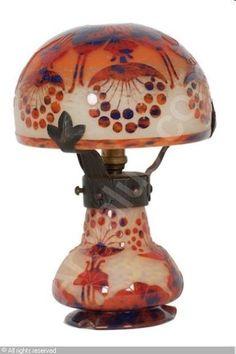 Charles Schneider le verre francais lamp
