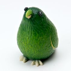 Avocado Parrot. This is actually an Enesco product, but clever food artists could use it as inspiration...