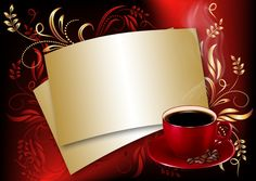 Red Rose Petals, Red Roses, Coffee Images, Birthday Background, Frame Background, Z Arts, Borders And Frames, Good Morning Good Night, Coffee And Books