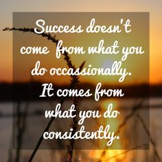 A great message about success! Find more motivational, inspirational, and positive thoughts at #lorisgolfshoppe