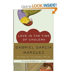 Great book!  Love in the Time of Cholera by Gabriel Garcia Marquez. . . have ambitions to read this in its original form someday, in Spanish!