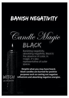 Candle Magick- Black