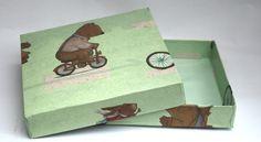 Die Schachtel für den Bärenfreund.