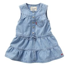 As you'd expect Levi's have some amazing girls denim dresses!
