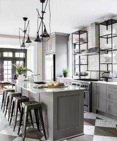masculine kitchen kathy kuo home