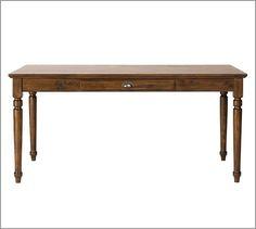 1000 images about desk ideas on pinterest writing desk for Pottery barn printer s desk reviews