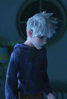 """B-But that's me,Jack Frost!That's my name!You said my name!""❄️"