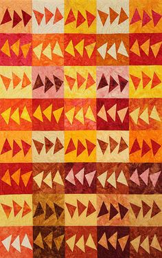 Crackers Quilt - Pattern designed by Judy Niemeyer, via canton village quiltworks