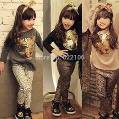 $23.58 (Buy here: https://alitems.com/g/1e8d114494ebda23ff8b16525dc3e8/?i=5&ulp=https%3A%2F%2Fwww.aliexpress.com%2Fitem%2F2015-Fashion-Children-s-Wear-Kids-Clothes-Sets-Leopard-print-Design-Cotton-Two-Pieces-Vetement-Enfant%2F32311656294.html ) 2015 Fashion Children's Wear Kids Clothes Sets Leopard-print Design Cotton Two Pieces Vetement Enfant Roupas Infantis Menina for just $23.58