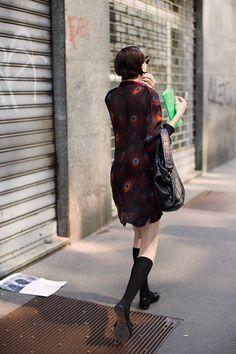 On the Street…Summer, Milan (The Sartorialist) Sartorialist, Female Photographers, Pants Pattern, International Fashion, Italian Style, Milan, Menswear, Street Style, Shirt Dress