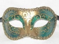 Venetian Masquerade Masks, Mardi Gras, Venice, Carnival, Stars, Green, Venetian Masks, Venice Italy, Carnavals