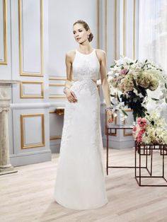 Moonlight Collection J6396 elegant bridal gowns and classic wedding dresses