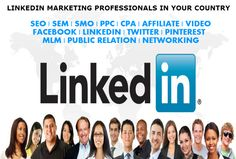 wpdave: get you 500+ LinkedIn Marketing Experts In Your Country for $5, on fiverr.com