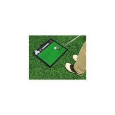 NFL Oakland Raiders Golf Hitting Mat, 20 inch x 17 inch, Multicolor