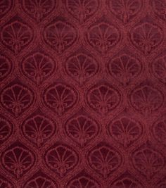 Upholstery Fabric-Eaton Square Eloise-Moroccan Red Medallion