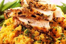 Mustard chicken with swede mash – Recipes – Slimming World - only half a syn on original and extra easy Slimming World Dinners, Slimming World Diet, Slimming World Recipes, Meals For One, Main Meals, Full Meals, Swede Recipes, Mash Recipe, Mustard Chicken