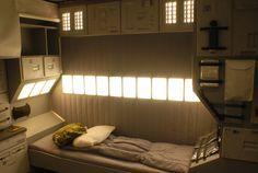 Sci-Fi Room | Sci-Fi Bedroom | space station | Pinterest ...