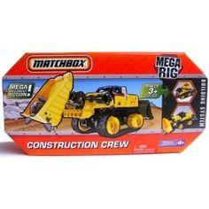 $9 Matchbox Mega Rig Construction Crew Building System Toy