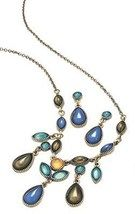 Avon Blue Colorful Frontal Necklace Gift Set  $9.99
