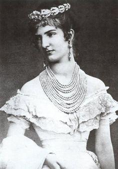 Margherita di Savoia prima regina d'italia, nel giono delle nozze