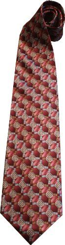 Contemporary Mens Silk Neckties Vatican Library Collection Pink Star Pattern  One Size * Be sure to check out this awesome product.