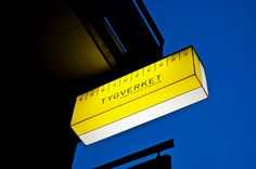 Tygverket sign via Behance
