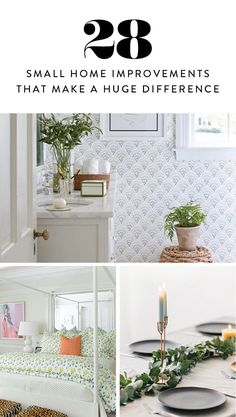 28 Bonkers Easy Home Improvements That Make a Huge Difference via @PureWow