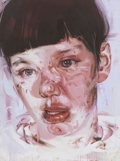 Red Stare Head IV, Jenny Saville