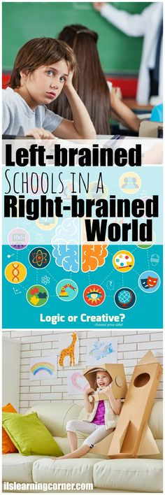 Left-Brain Schools in a Right-Brain World: Lack of Play in Schools, Rise in Learning Delays | ilslearningcorner.com